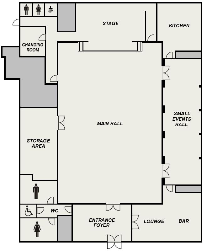 Floor Plan Kenton Hall